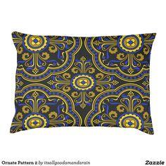 Ornate Pattern 2 Large Dog Bed