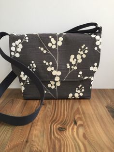 BirdonaWireBags  Grey messenger bag, crossbody bag, JW service bag