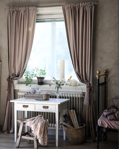 Syprojekt i Julies rum (Lovely Life) White Cottage, Sweet Home, Curtains, Kids Rooms, Inspiration, Girls, Home Decor, Life, Biblical Inspiration