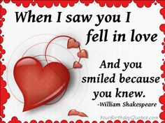 """""""When I saw you I fell in love, and you smiled because you knew"""".  #NatalieDiamonds #love #wedding"""
