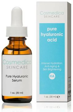 Cosmedica Skincare Pure Hyaluronic Acid Serum --  love this as a night treatment