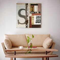 """Add sophistication and style to your home with this collage inspired art. Emerge XI is printed on a 30x30"""" MDF box with black edges to finish off this cool piece."""