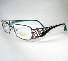 d740bca18f Apple Bottoms 713 Brown Woman Eyeglasses Eyewear New Frames