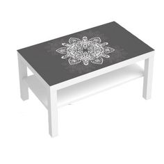 Stickers pour table basse lack 90x55 i love bike deco - Revetement autocollant pour meuble ...