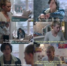 I loved this episode so much and I loved this scene ❤️❤️ Bughead Ep 6 (Betty and Jughead)