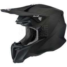 2016 Airoh Twist Helmet Colour Black Matt