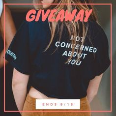 GIVEAWAY TIME TO ENTER: Like this post Tag friends in the comments HERE below. They MUST follow us for the entry to be valid Ends at 23:59 ET on 9/18 The winner will be announced here in the caption on 9/19 Bonus points: Unlimited number of comments so more comments = higher chance of winning. Winning comment will be chosen via random generator.