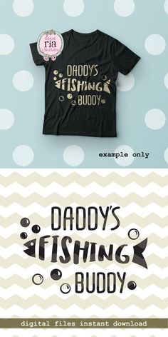 Daddys fishing buddy father son dad fish kids by LoveRiaCharlotte