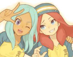 Suzette e Victoria Otaku, Pokemon, Anime Best Friends, Inazuma Eleven Go, Play Soccer, Anime Love, Manga Anime, Concept Art, Disney Characters