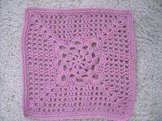 Sunshine Jewel Granny Square: free pattern