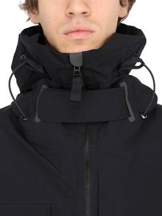 ADIDAS DAY ONE - GORE TEX WATERPROOF CLIMALITE PARKA - BLACK