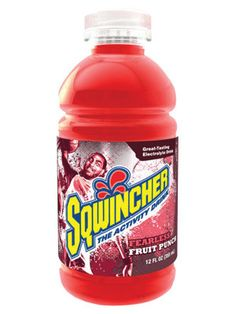 Sqwincher 12 Ounce Wide Mouth Ready To Drink Bottle Fruit Punch Electrolyte Drink (24 Each Per Case)