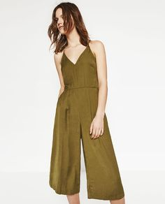 Image 2 of CROPPED JUMPSUIT from Zara