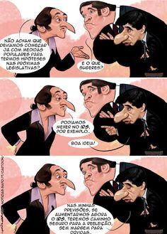 Cartoon: Os estrategas