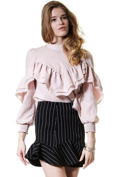 Fairy Breeze Gauze Blouse Discover the latest fashion trends online at storets.com