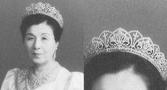 Tiara worn by Japanese royalty