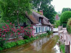 Veules Les Roses, Normandy, France