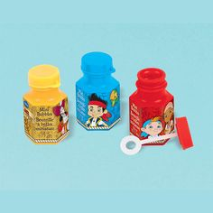 Jake and the Neverland Pirates Bubble Bottles | 12 ct