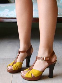 I don't own any fun shoes like these....but I think I need a pair or two!