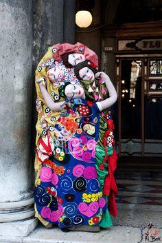 Klimt en carnaval de venezia