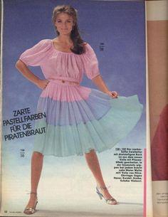 1982 Pastel Dress