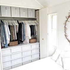 asamiさんの、ベッド周り,IKEA,クローゼット,収納,のお部屋写真