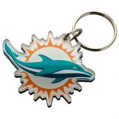 Miami Dolphins - Logo Acrylic Keychain