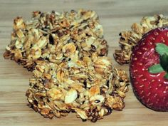 Owsiano-sezamowe ciasteczka z miodem - zdjęcie 3 Cereal, Stuffed Mushrooms, Muffin, Vegetables, Breakfast, Places, Stuff Mushrooms, Morning Coffee, Muffins