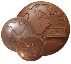 Molded Chocolate Globe