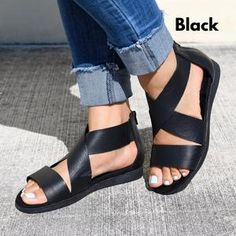 2019 Hot Outdoor Sandals Page 2 - gifthershoes Low Heel Sandals, Open Toe Sandals, Ankle Strap Sandals, Ankle Straps, Shoes Sandals, Block Sandals, Flip Flop Shoes, Clearance Shoes, Womens High Heels