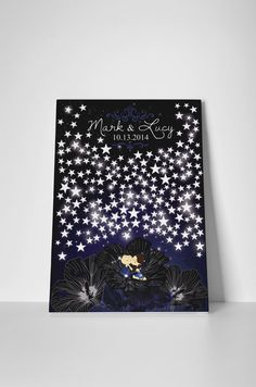66 ideas painting ideas on canvas couples guest books - Painting Ideas On Canvas Galaxy Wedding, Star Wedding, Wedding Guest Book Alternatives, Wedding Ideas, Sun And Stars, Star Stickers, Couples In Love, Abstract Canvas, Wedding Cards