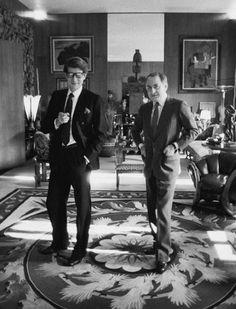 Yves Saint Laurent & Pierre Berge
