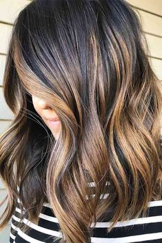 Dark brown hair is beating all the charts these days. And there is no wonder why, as all these hues of brown are so versatile that it is difficult not to fall in love with them. Today we will try to open the world of dark brown hair color a little wider for you. Jump in! #haircolor #brownhair #darkbrownhair