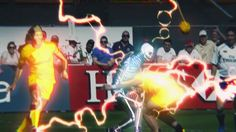 I've been seeing a bunch of Live Action Sports+Anime Style Effects. Would be great for any of our sports titles.
