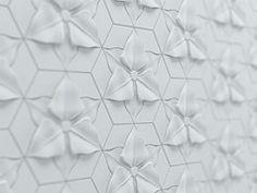 Carrelage 3D en fibre-ciment FLORENTIN - KAZA Concrete