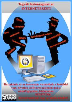 Internet-Biztonság plakát Wish, Internet, Movies, Movie Posters, Films, Film Poster, Cinema, Movie, Film