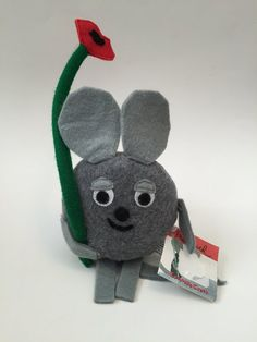 Frederick the Mouse stuffed toy to accompany the book Frederick by Leo Lionni