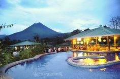 Venue: arenal volcano wedding