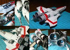 Papercraft Paradise | PaperCrafts | Paper Models | Card Models - Battlestar Galactica