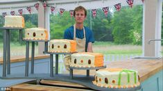 Colossal carrot cake by Ian from The Great British Bake Off 2015. Judges said it was the best carrot cake they'd ever tasted!
