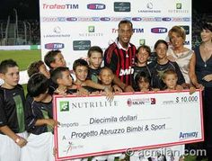 Ronaldino raising money through Nutrilite  http://www.amway.hu/en/user/gkojsza?code=en