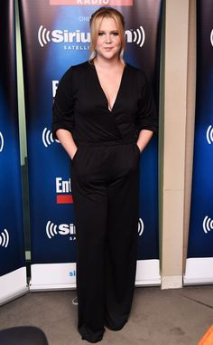Amy Schumer from The Big Picture: Today's Hot Pics  The hilarious Trainwreck star strikes a pose during a visit to SiriusXM Studios in the Big Apple.