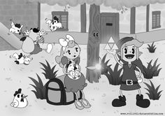 Legend of Zelda, 1930s-Disney-style