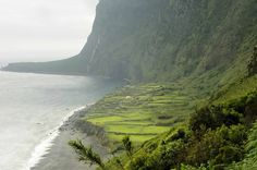Fajã Lopo Vaz, Ilha das Flores, Açores, Portugal