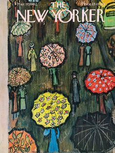 The New Yorker Cover - March 17, 1962   by Abe Birnbaum