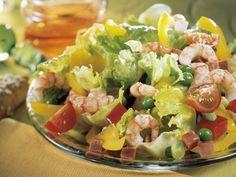 Bunter Salat mit Shrimps ist ein Rezept mit frischen Zutaten aus der Kategorie Garnelen. Probieren Sie dieses und weitere Rezepte von EAT SMARTER!