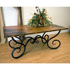 Wish list...wrought iron table!