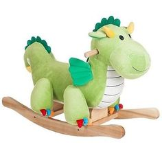 Kids' Stick Horses - Happy Trails Rocking Dagwood Dragon  Great for the Kids >>> More info could be found at the image url.