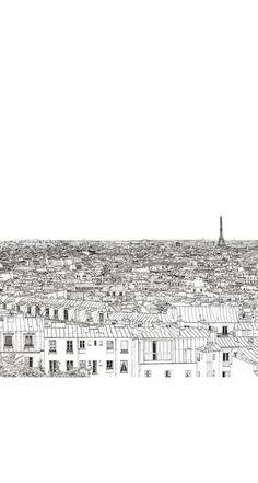 iPhone 5 Wallpaper Paris