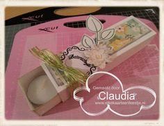 Cards en Scrap Challengeblog: Workshop 71 Klein doosje met waxinelichtjes